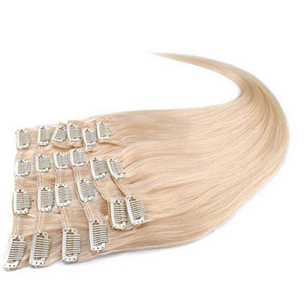 Morningsilkwig 6 A Straight Hair Clip In On Human Hair Extensions 100