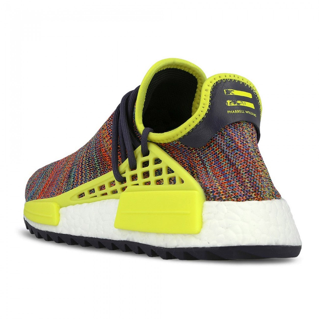 a481c9391 Pharrell x adidas NMD Hu Trail Noble Ink Bold Yellow-Footwear White ...