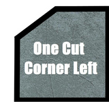 Ultimate One Cut Corner Left Hot Tub Cover
