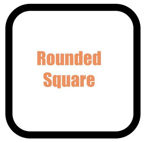 Rounded Square Shaped Hot Tub Cover