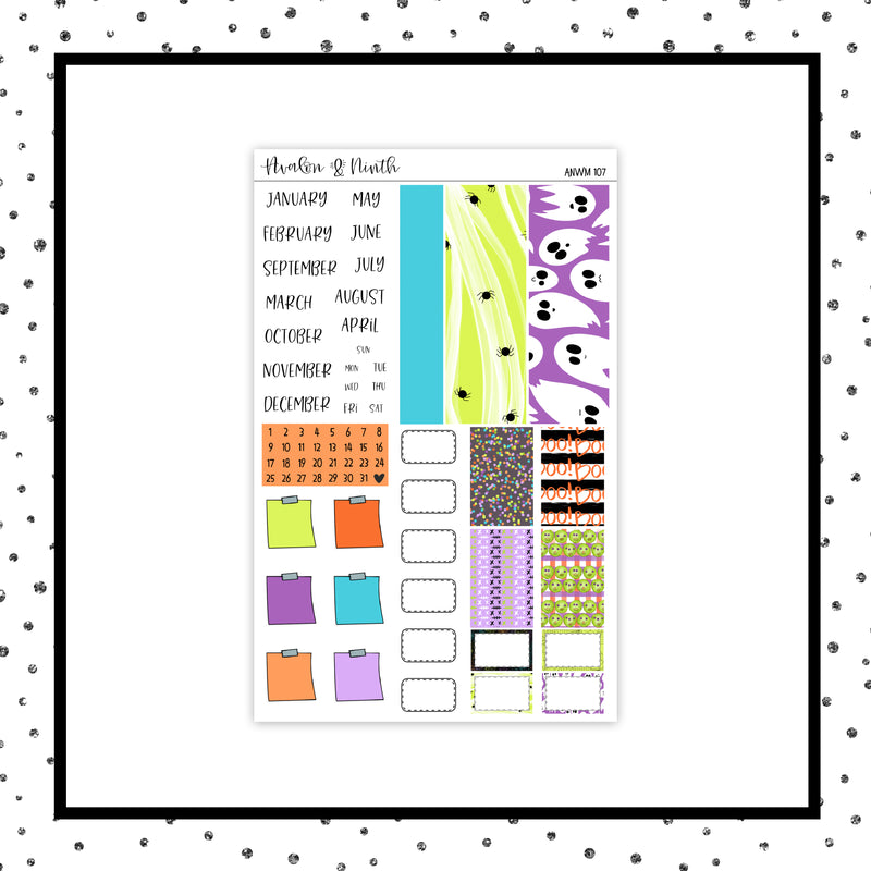 A&N Weeks Monthly Kit // ANWM 107