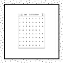 Date Dots // Planner Stickers // DC121