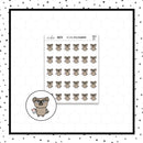 Mojo the Pug is Paying Bills Doodle Stickers // Planner Stickers // Icon Stickers // HDCH111