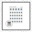 Dog Bath Mojo Doodle Stickers // Planner Stickers // Icon Stickers // HDCH123