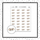 Squeeze Your Boobies Doodle Stickers // Planner Stickers // Icon Stickers // IC259