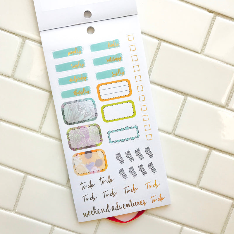 Paint Your Life Sticker Book - Collab with Paper House Productions