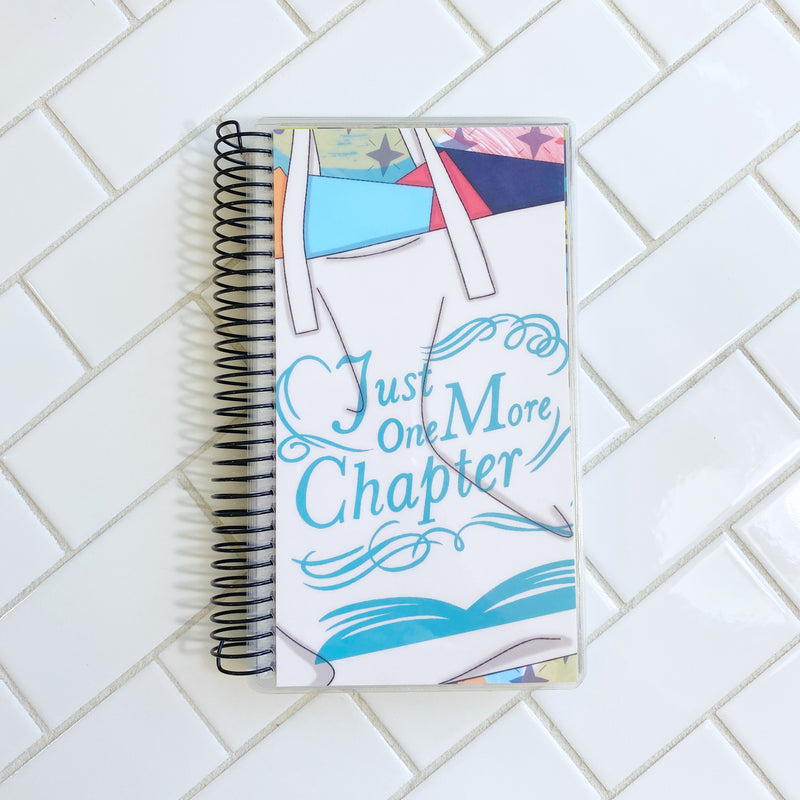 One More Chapter Cover // A&N Weeks Planner // Coiled Weeks Planner // Undated Planner