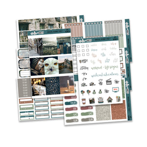 Magical Journey Part 1 Weekly Kit // A La Carte Kit // Planner Stickers // KIT10401
