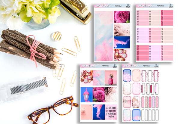 Pinkalicious Weekly Kit // A La Carte Kit // Planner Stickers // KIT10601