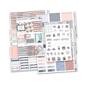 Cozy In Bed Weekly Kit // A La Carte Kit // Planner Stickers // KIT12801