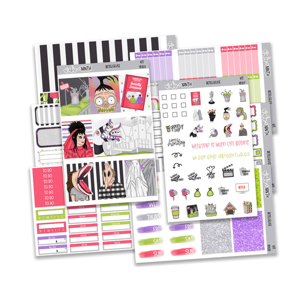 Betelgeuse Weekly Kit // A La Carte Kit // Planner Stickers // KIT18101