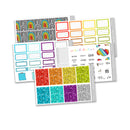 Over the Rainbow Weekly Kit // Planner Stickers // KIT24701