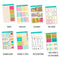 Summer Boardwalk Weekly Kit // A La Carte Kit // Planner Stickers // KIT25001