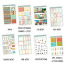 At The Lake Weekly Kit // Exclusive Art // A La Carte Kit // Planner Stickers // KIT25801