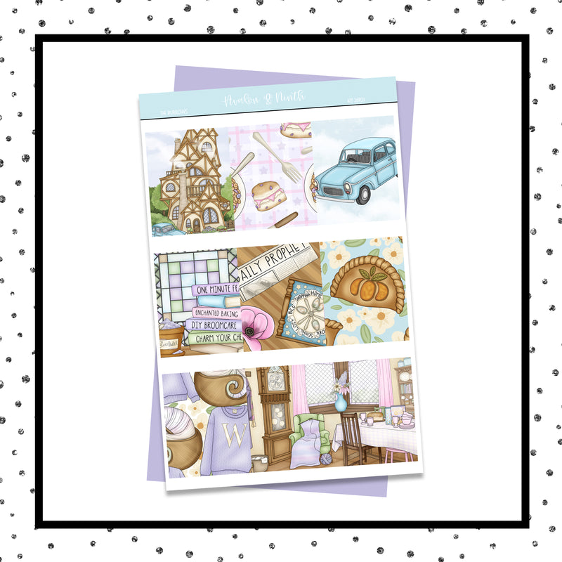 The Burrows Weekly Kit // A La Carte Kit // Planner Stickers // KIT26901