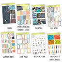 Vintage Video Weekly Kit // A La Carte Kit // Exclusive Art // Planner Stickers // KIT28201