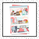 Valentine's Day Self Care Weekly Kit // A La Carte Kit // Exclusive Art // Planner Stickers // KIT29101