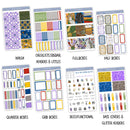 Wizard Alley Weekly Kit // A La Carte Kit // Exclusive Art // Planner Stickers // KIT30801