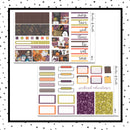 Spooky Nights Mini Kit // Planner Stickers // A&N Weeks // PPWeeks // MINI221