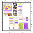 Spooky House Mini Kit // Planner Stickers // A&N Weeks // PPWeeks // MINI225