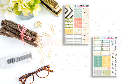 Here and Now Mini Kit // Planner Stickers // TN Kit // Bullet Journal // MINI3801