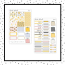 Sunflower Happiness PPWeeks Kit //  Planner Stickers // PPW125