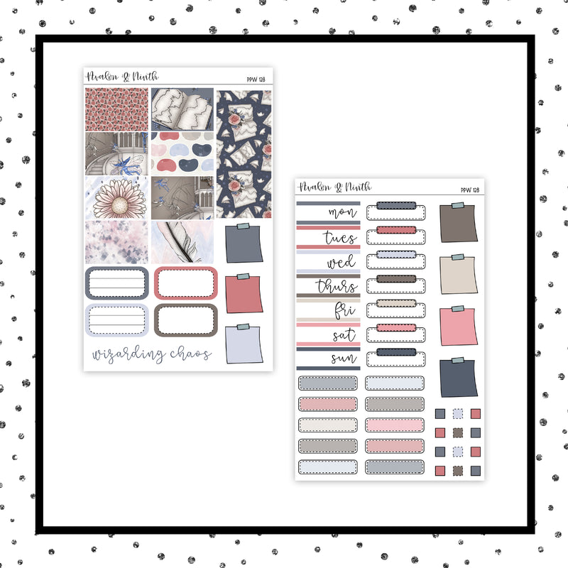 Pixies PPWeeks Kit //  Planner Stickers // PPW128