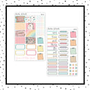 At The Fair PPWeeks Kit //  Planner Stickers // PPW134