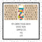 Scrabble Tiles - Top Loading Sticker Album - Choose Your Size (Design 31)