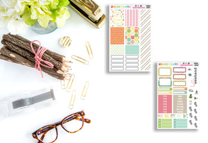 Bloom Like A Beautiful Flower Mini Kit // Personal Kit // Planner Stickers // MINI2601