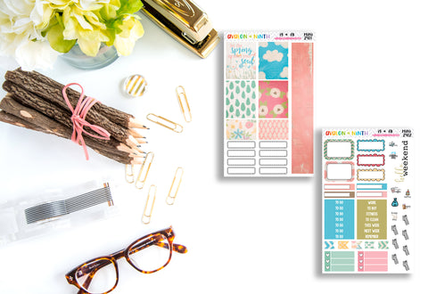 Spring Awakening Mini Kit // Personal Kit // TN Kit // Bullet Journal // MINI2901