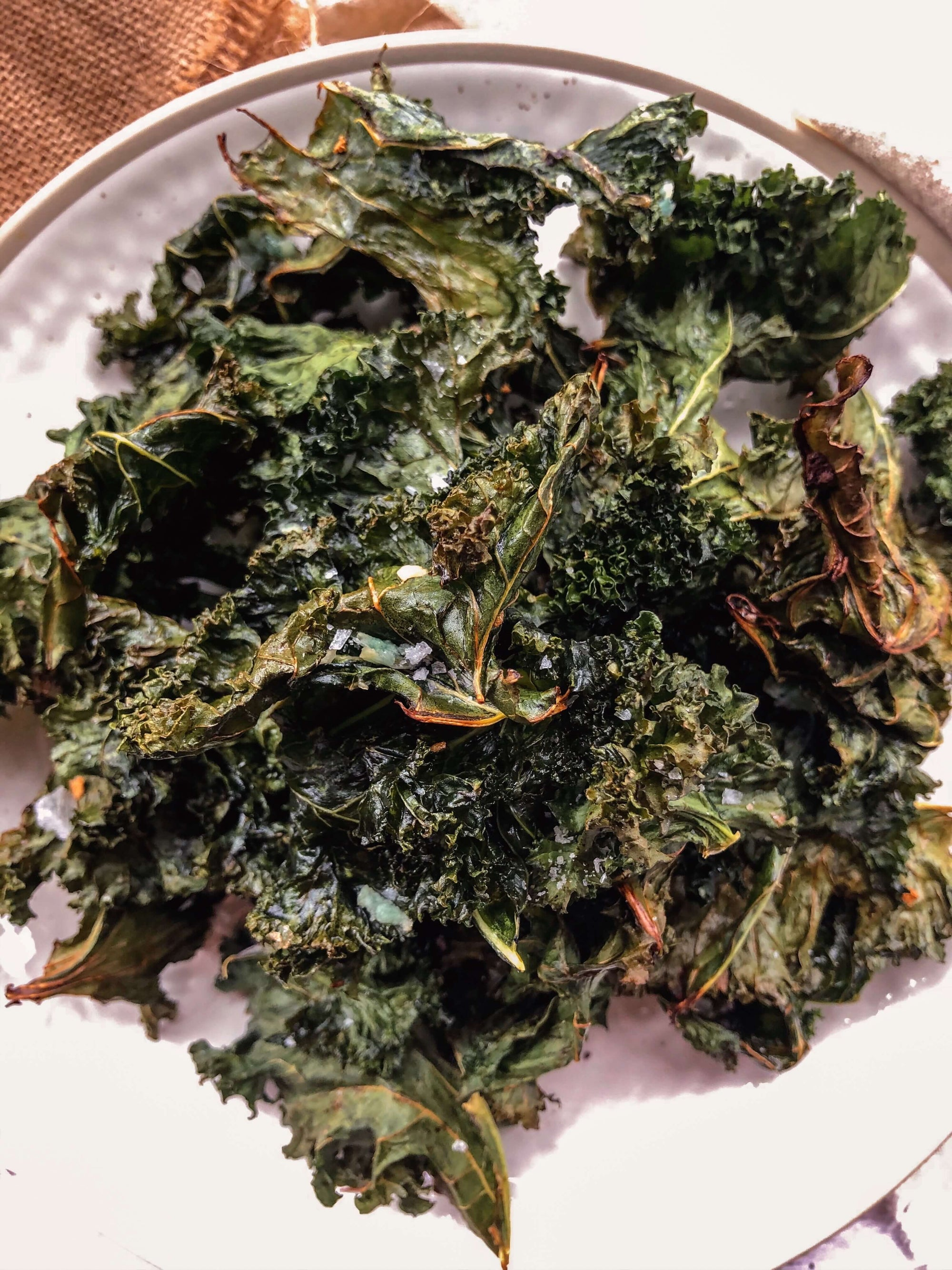 @healthcuriousnation Kale Chips