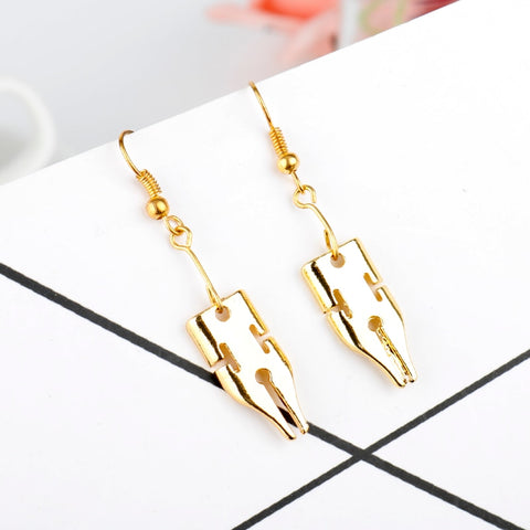 Fountain Pen Earrings