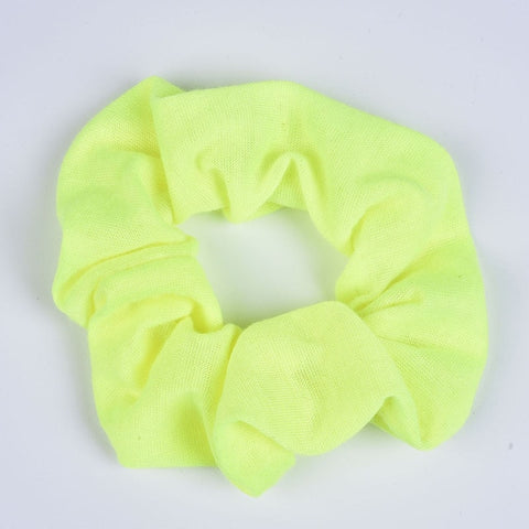 Retro Neon Scrunchies