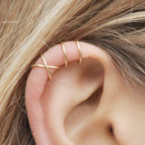 Metal Laced Ear Cuff