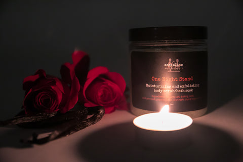 one night stand body scrub
