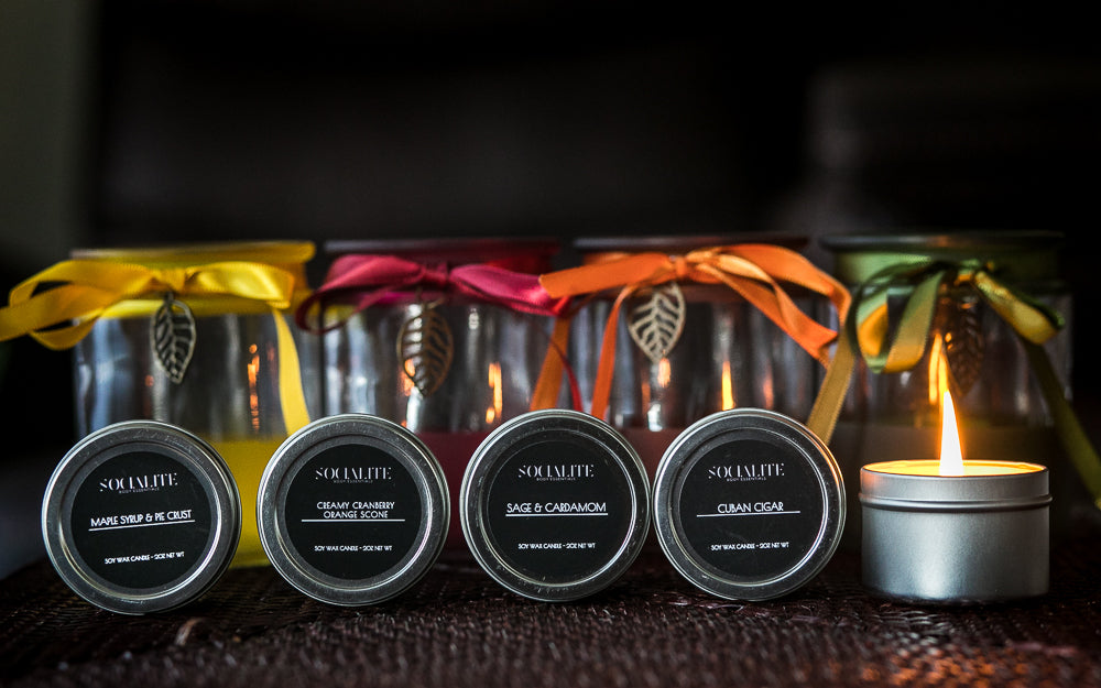 Holiday Candle Bundles - Socialite Body Essentials
