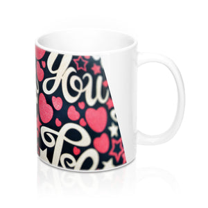 buy Love You Design Coffee & Tea Mug 11oz|0.33l at www.365mugs.com