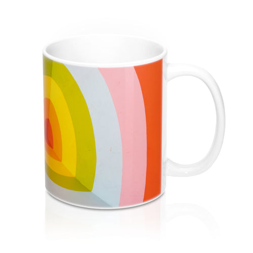 buy Bullseye Design Coffee & Tea Mug 11oz|0.33l at www.365mugs.com
