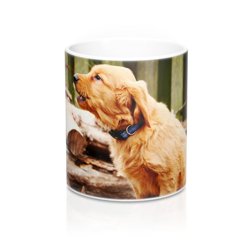 buy Golden Puppy Design Coffee & Tea Mug 11oz|0.33l at www.365mugs.com