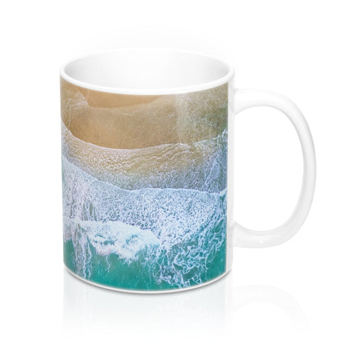 buy Never Ending Waves Design Coffee & Tea Mug 11oz|0.33l at www.365mugs.com