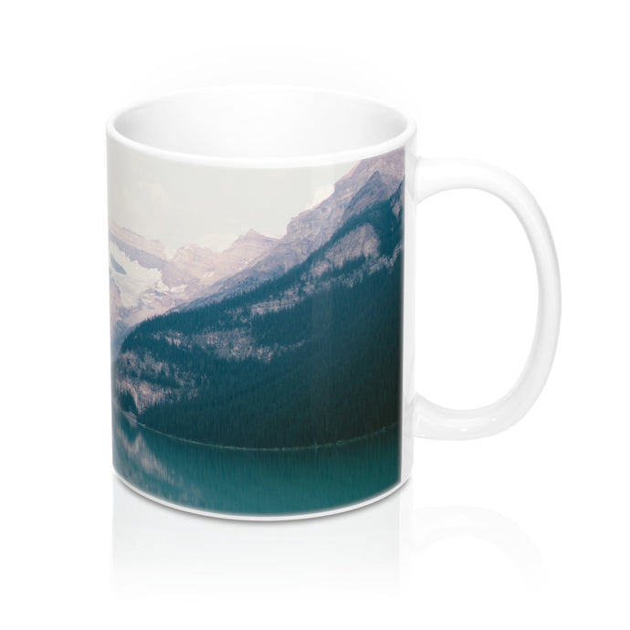 buy Lake Mountain Design Coffee & Tea Mug 11oz|0.33l at www.365mugs.com