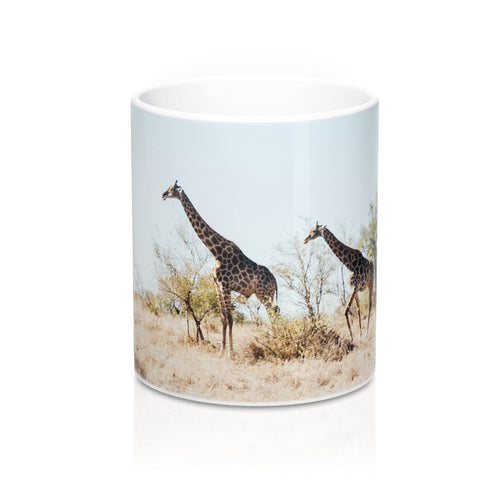 buy Giraffes Design Coffee & Tea Mug 11oz|0.33l at www.365mugs.com