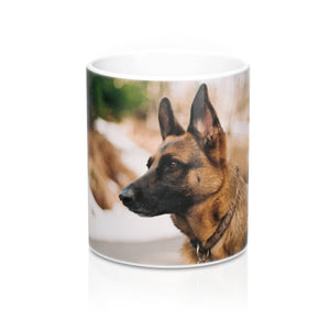 buy German Shepherd Design Coffee & Tea Mug 11oz|0.33l at www.365mugs.com