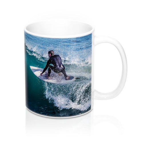 buy Riding the Wave Design Coffee & Tea Mug 11oz|0.33l at www.365mugs.com