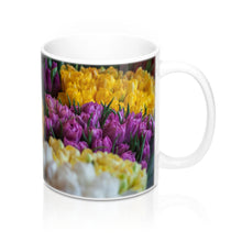 buy Tulip Garden Design Coffee & Tea Mug 11oz|0.33l at www.365mugs.com