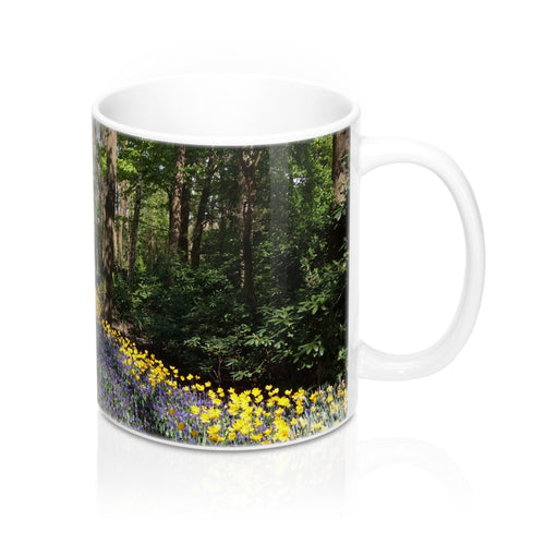 buy Flower Pathway Design Coffee & Tea Mug 11oz|0.33l at www.365mugs.com