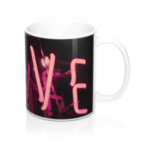 buy Neon Love Design Coffee & Tea Mug 11oz|0.33l at www.365mugs.com