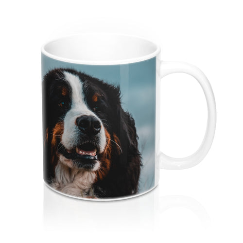 buy Happy Dog Design Coffee & Tea Mug 11oz|0.33l at www.365mugs.com