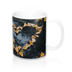buy Love Leaves Design Coffee & Tea Mug 11oz|0.33l at www.365mugs.com